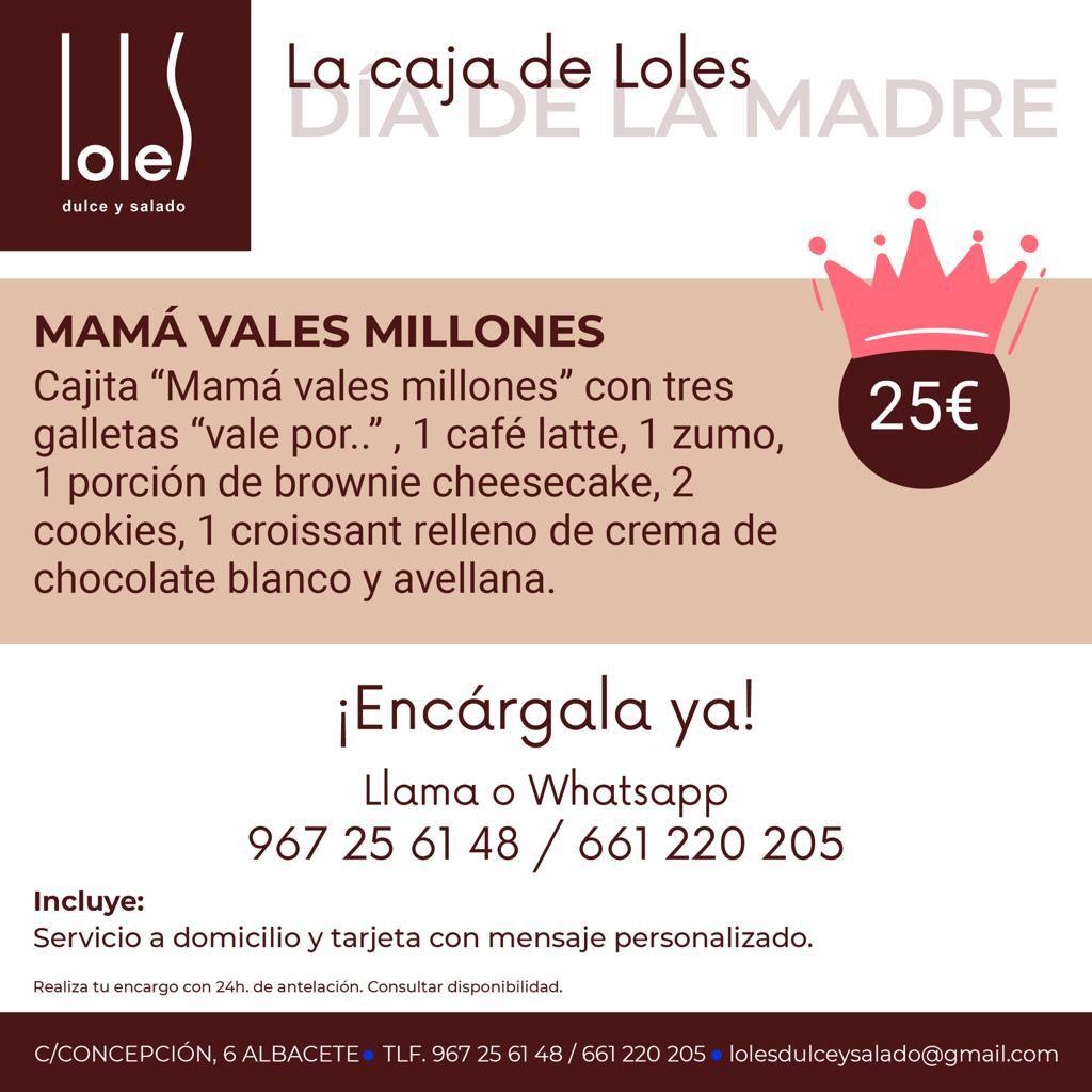 MAMÁ VALES MILLONES